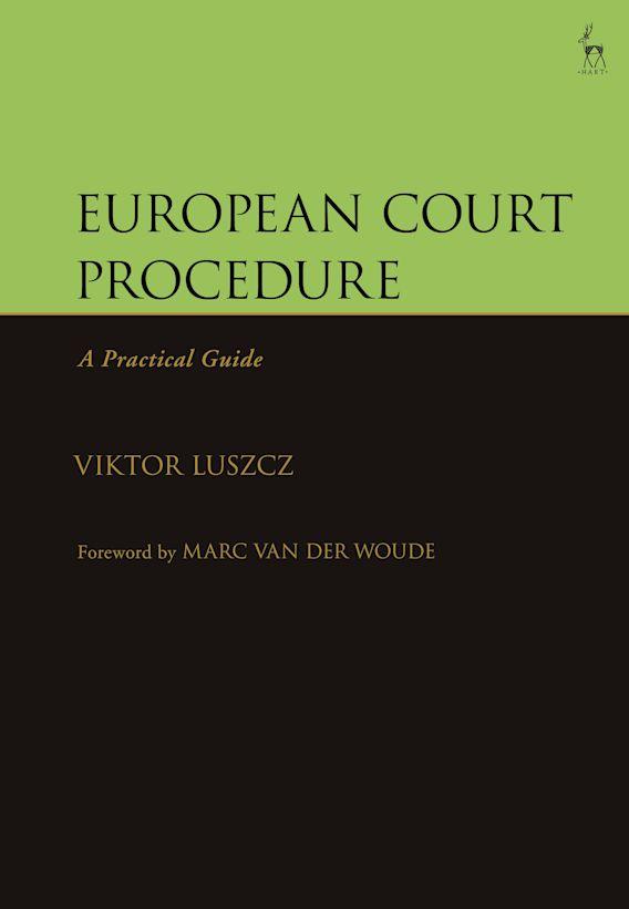 European Court Procedure cover