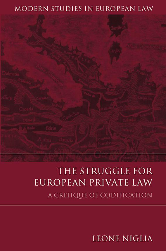 The Struggle for European Private Law cover