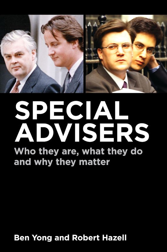 Special Advisers cover