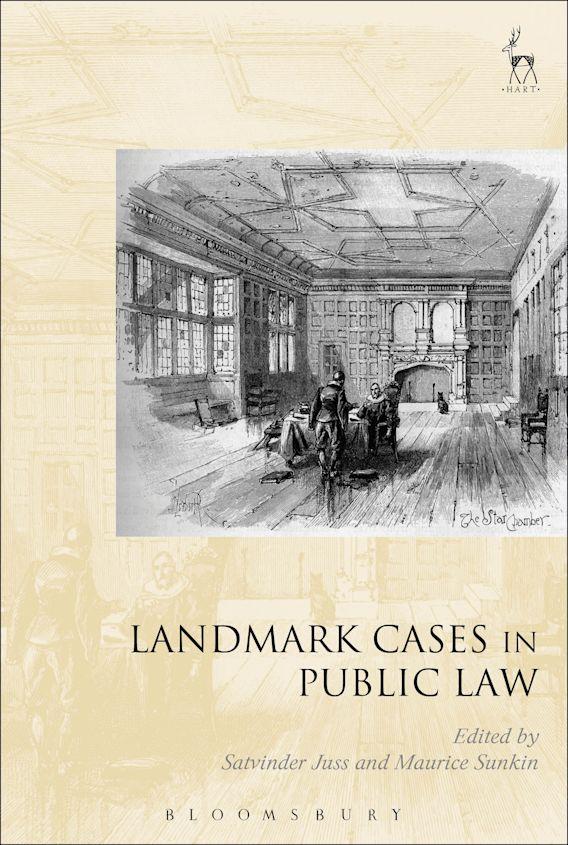 Landmark Cases in Public Law cover