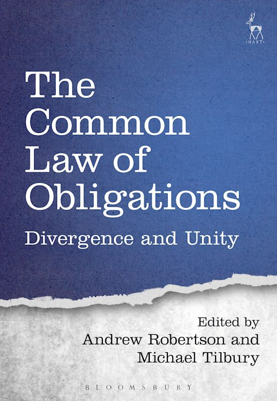 The Common Law of Obligations cover