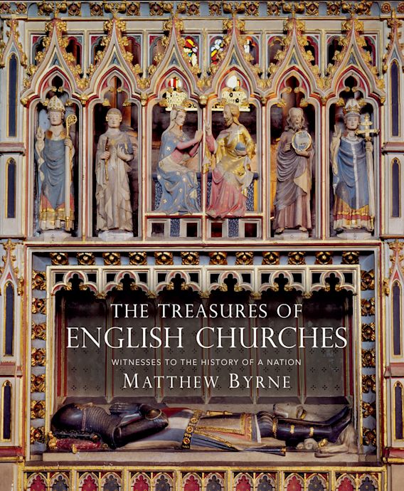 The Treasures of English Churches cover
