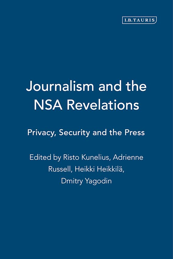 Journalism and the Nsa Revelations cover