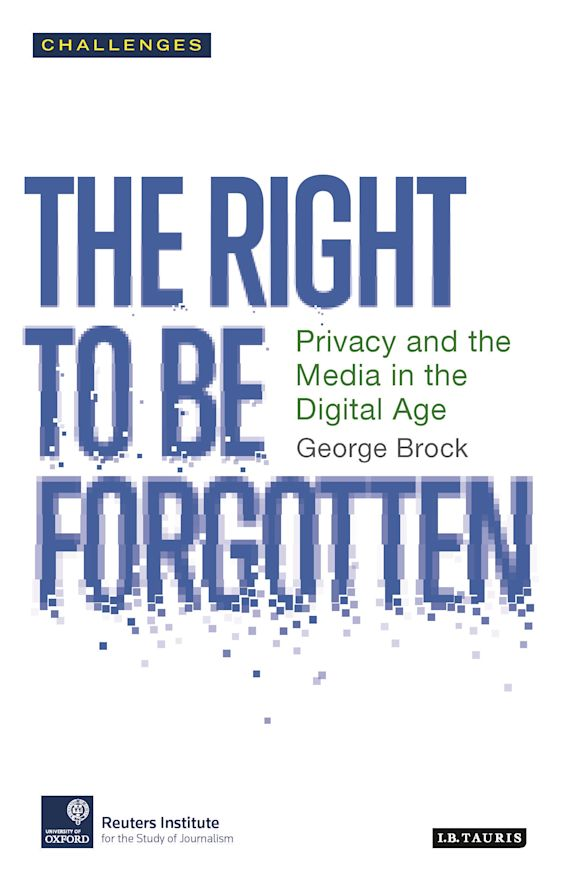 The Right to be Forgotten cover