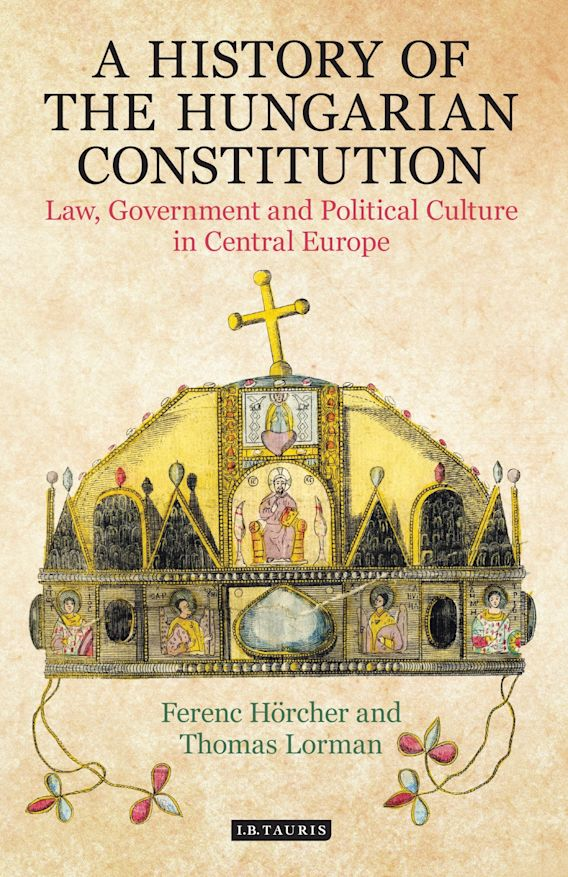 A History of the Hungarian Constitution cover