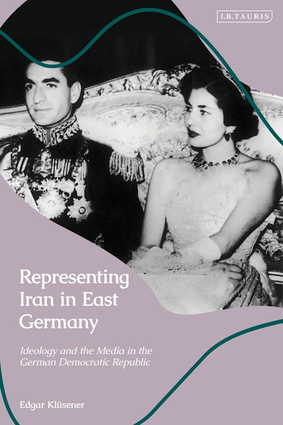 Representing Iran in East Germany cover