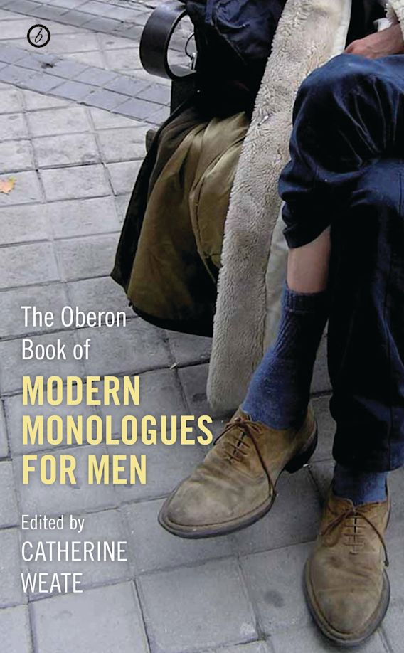 The Oberon Book of Modern Monologues for Men cover