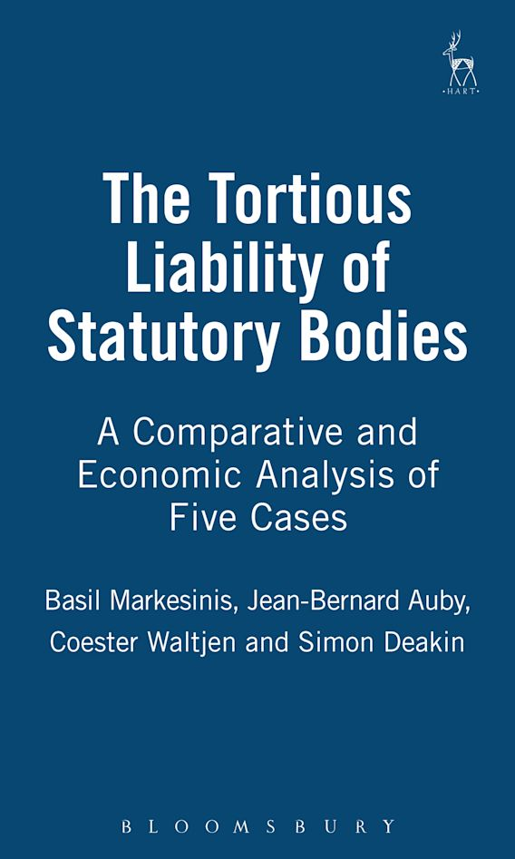 The Tortious Liability of Statutory Bodies cover