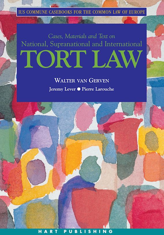Tort Law cover