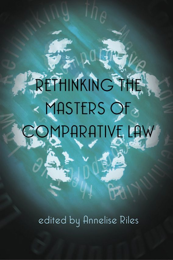 Rethinking the Masters of Comparative Law cover