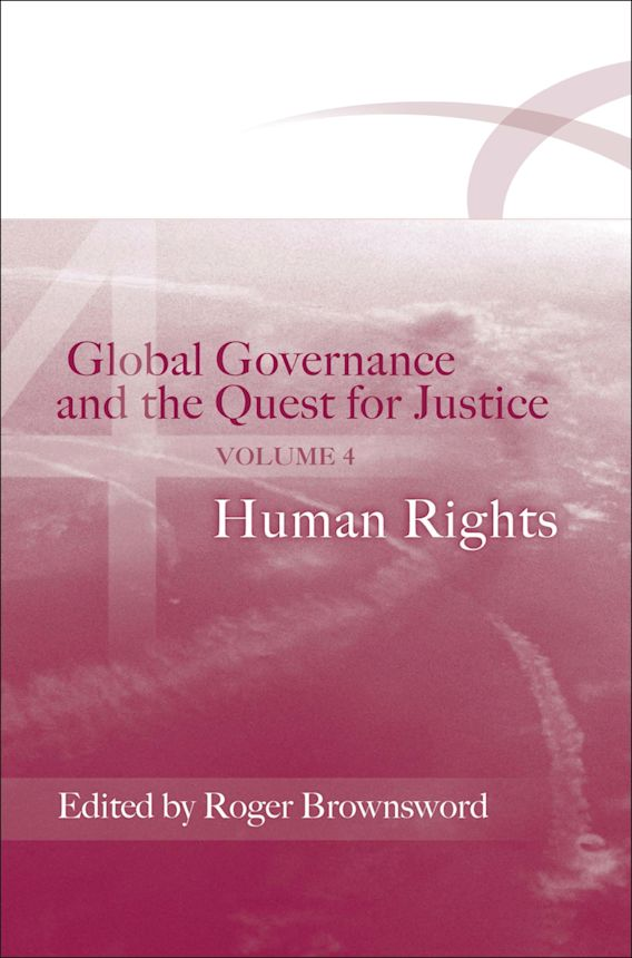 Global Governance and the Quest for Justice - Volume IV cover