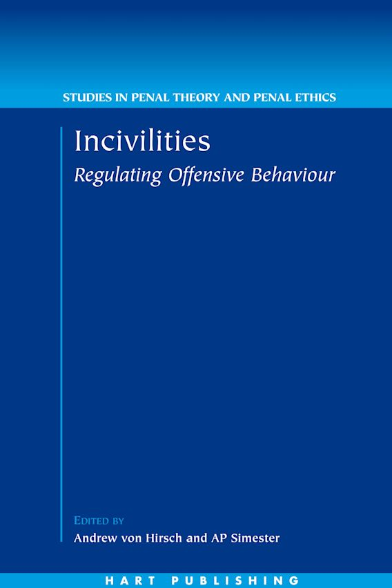 Incivilities cover