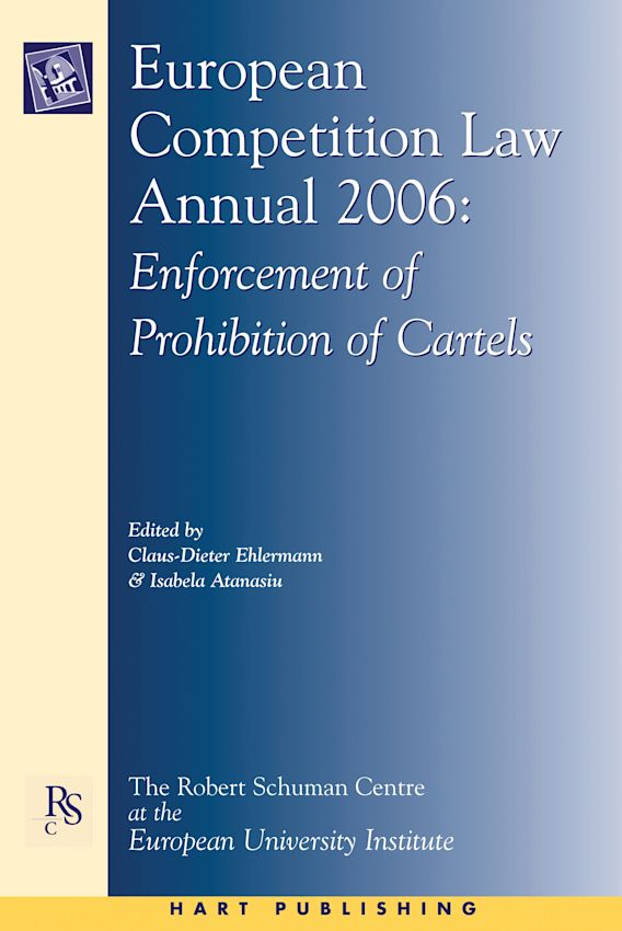 European Competition Law Annual 2006 cover