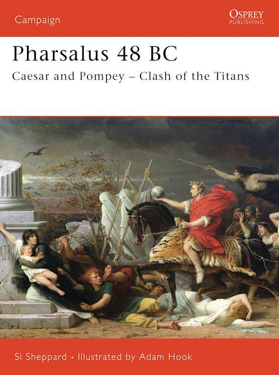 Pharsalus 48 BC cover