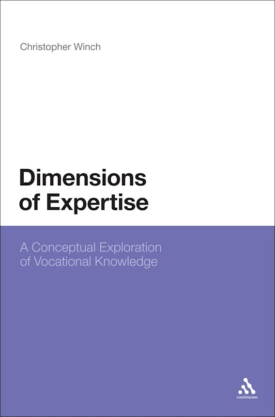 Dimensions of Expertise cover