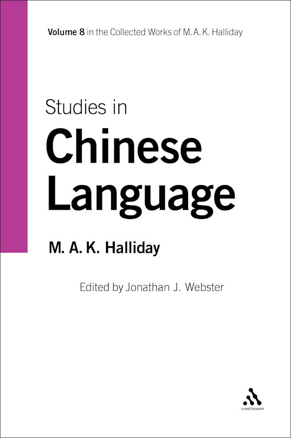 Studies in Chinese Language cover
