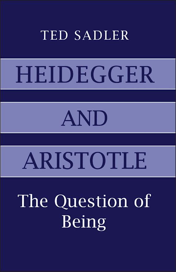 Heidegger and Aristotle cover