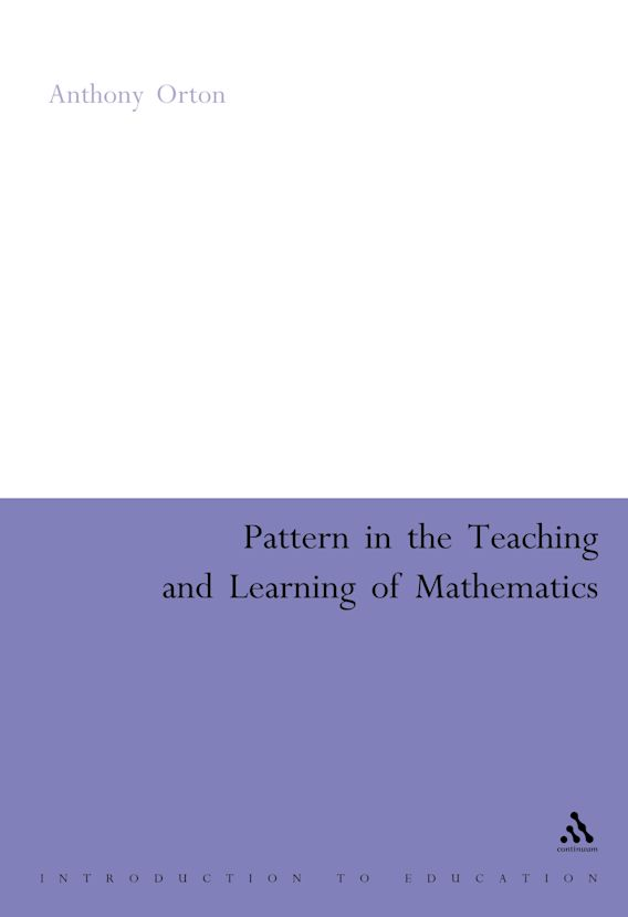 Pattern in the Teaching and Learning of Mathematics cover