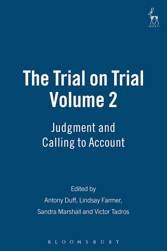 The Trial on Trial: Volume 2 cover