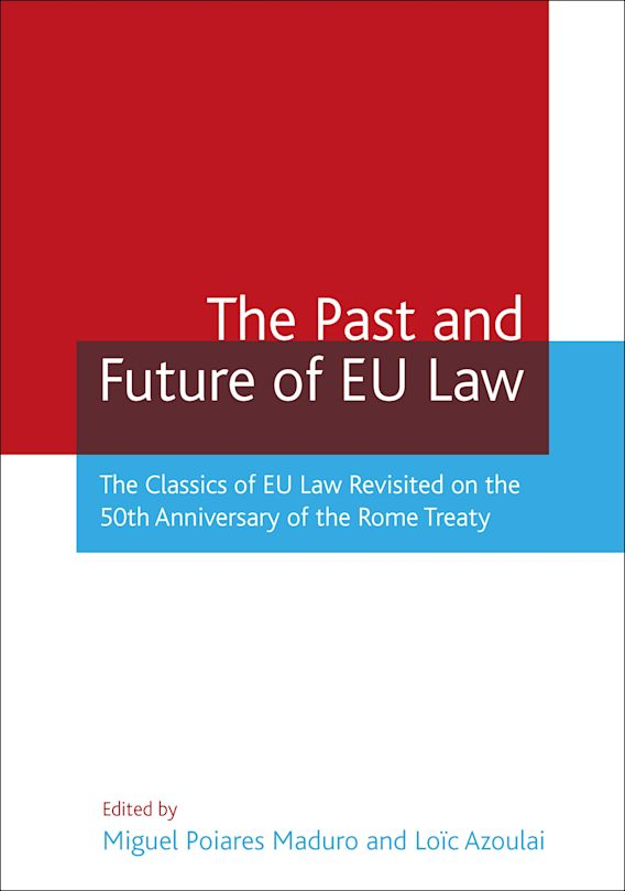 The Past and Future of EU Law cover