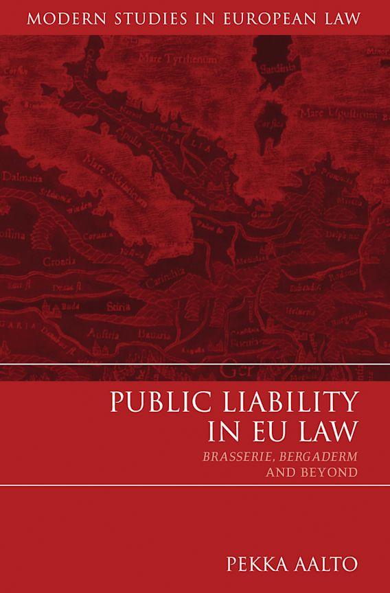 Public Liability in EU Law cover