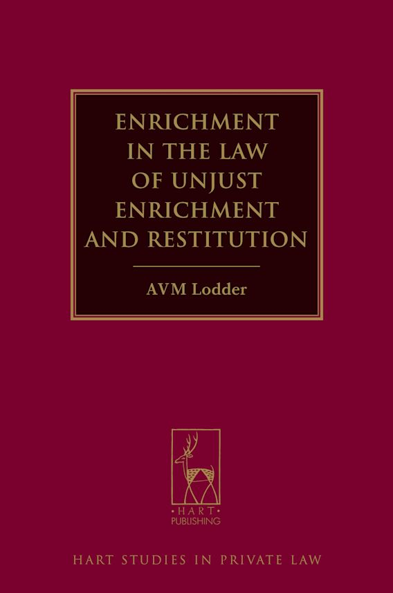 Enrichment in the Law of Unjust Enrichment and Restitution cover