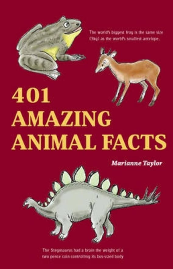 401 Amazing Animals Facts cover