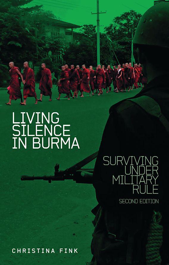 Living Silence in Burma cover