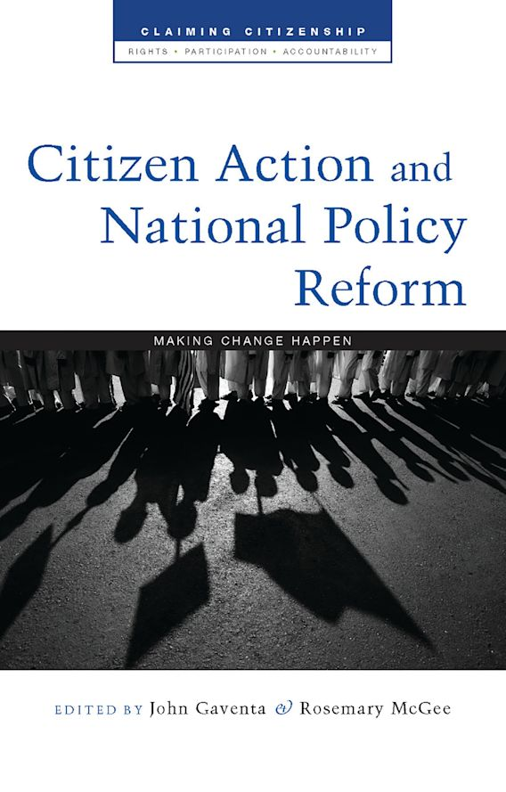 Citizen Action and National Policy Reform cover