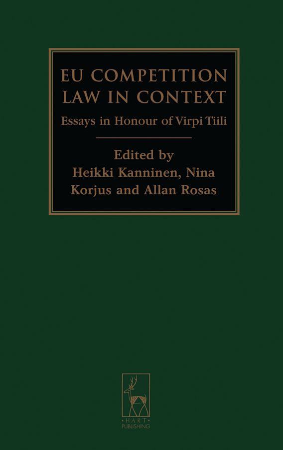 EU Competition Law in Context cover