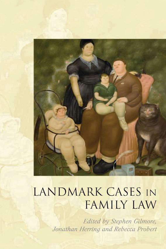 Landmark Cases in Family Law cover