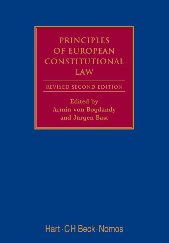 Principles of European Constitutional Law cover