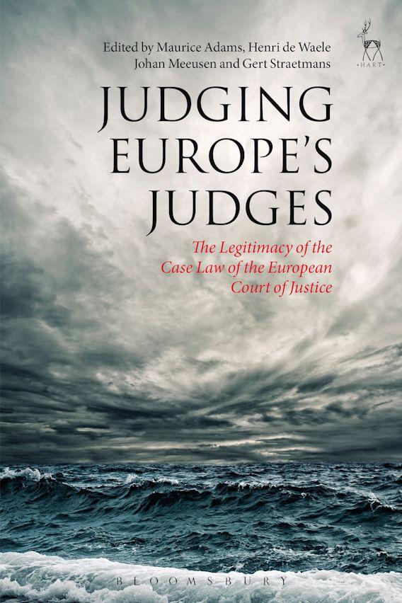Judging Europe's Judges cover