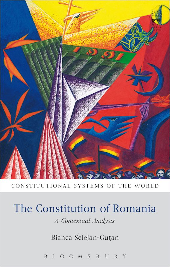 The Constitution of Romania cover