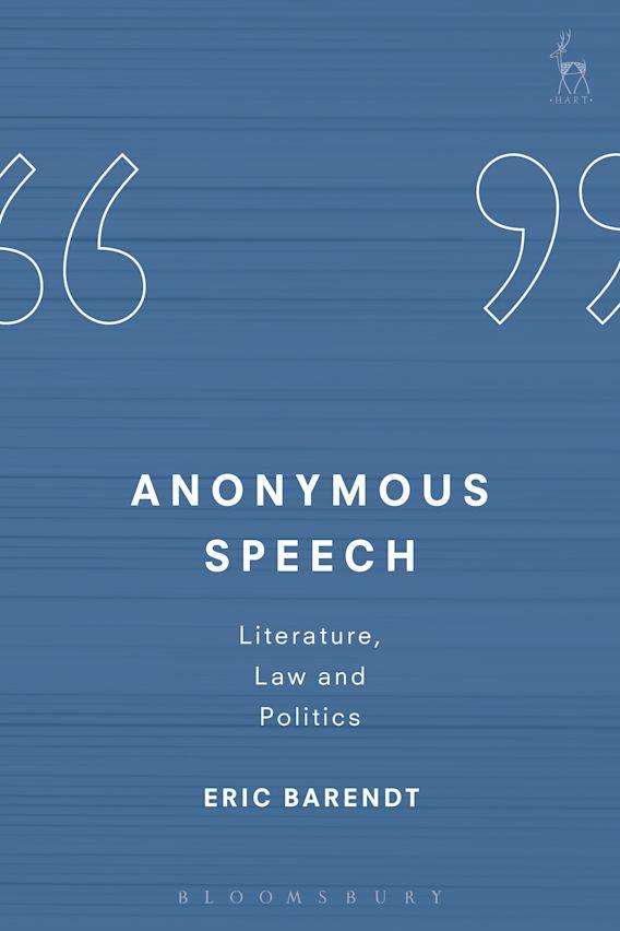 Anonymous Speech cover