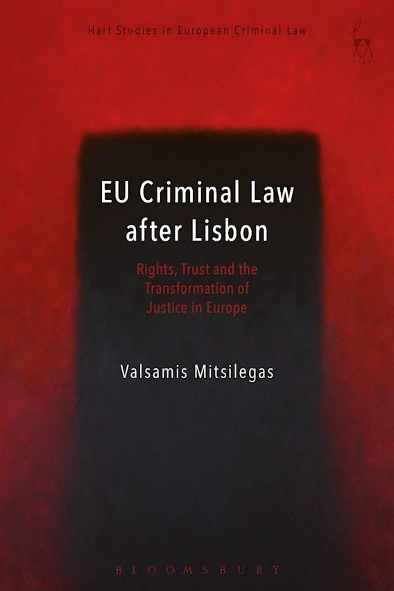 EU Criminal Law after Lisbon cover