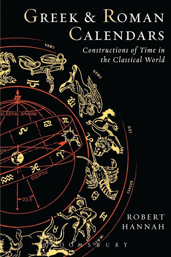 Greek and Roman Calendars cover