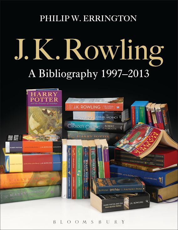 J.K. Rowling: A Bibliography 1997-2013 cover