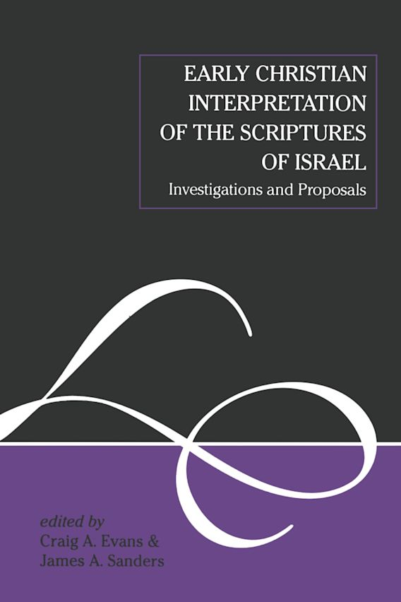 Early Christian Interpretation of the Scriptures of Israel cover