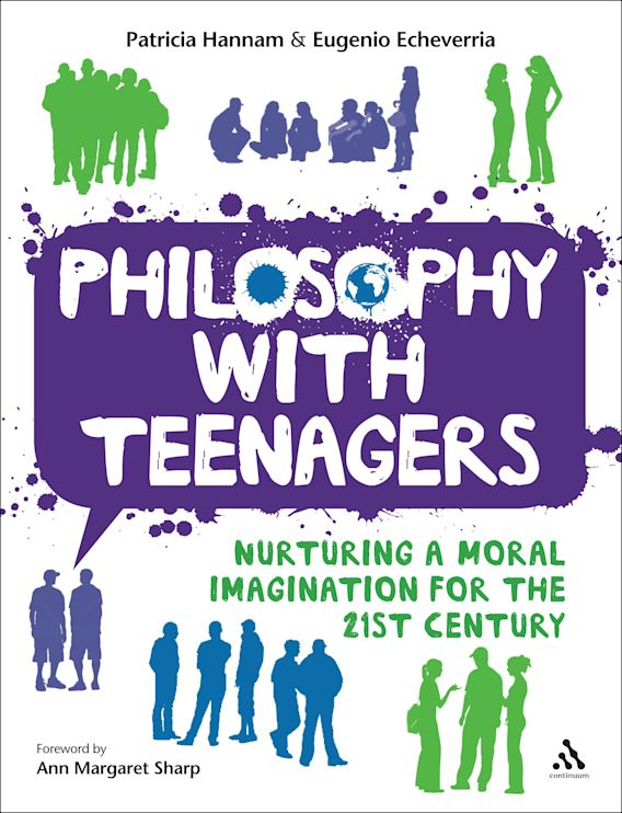 Philosophy with Teenagers cover