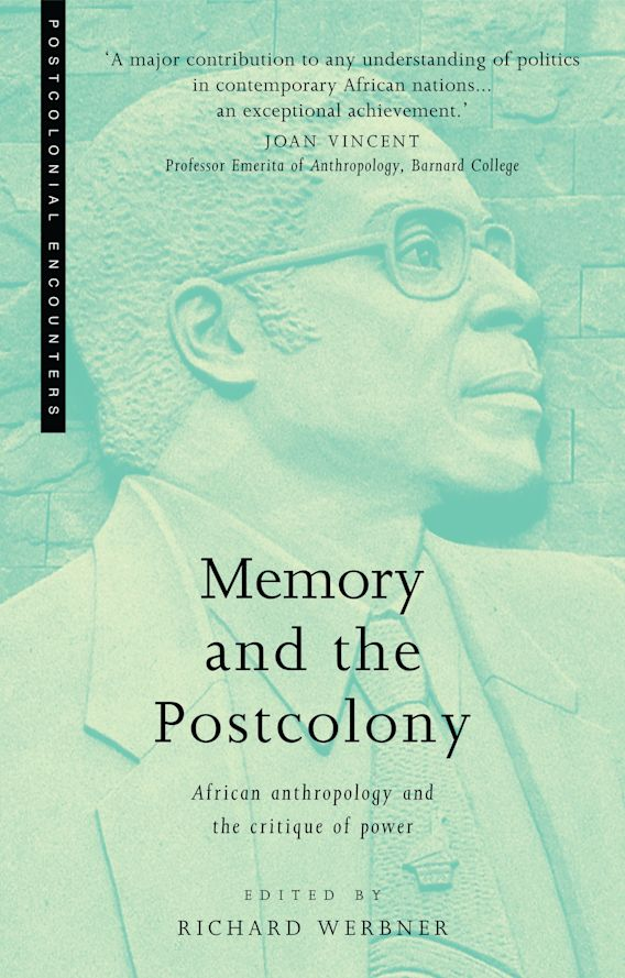 Memory and the Postcolony cover