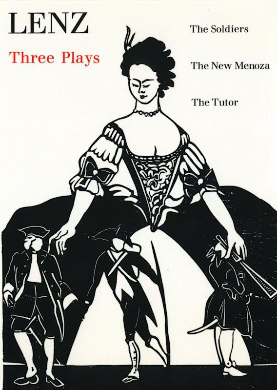 The Three Plays (Lenz) cover