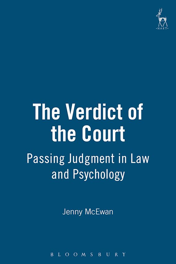 The Verdict of the Court cover