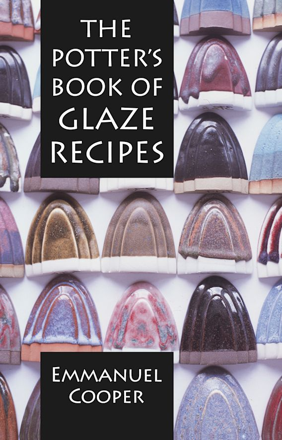 The Potter's Book of Glaze Recipes cover