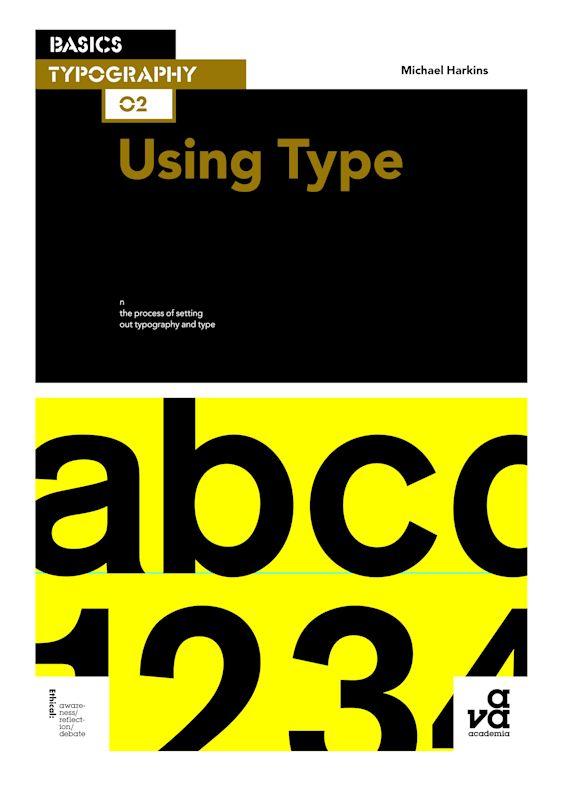 Basics Typography 02: Using Type cover