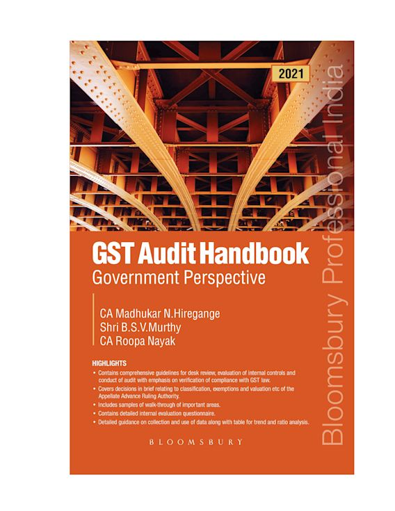 GST Audit Handbook - Government Perspective cover
