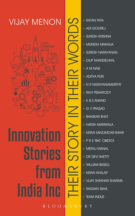 Innovation Stories from India Inc cover