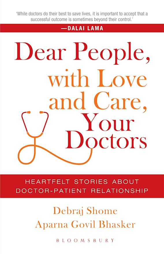 Dear People, with Love and Care, Your Doctors cover