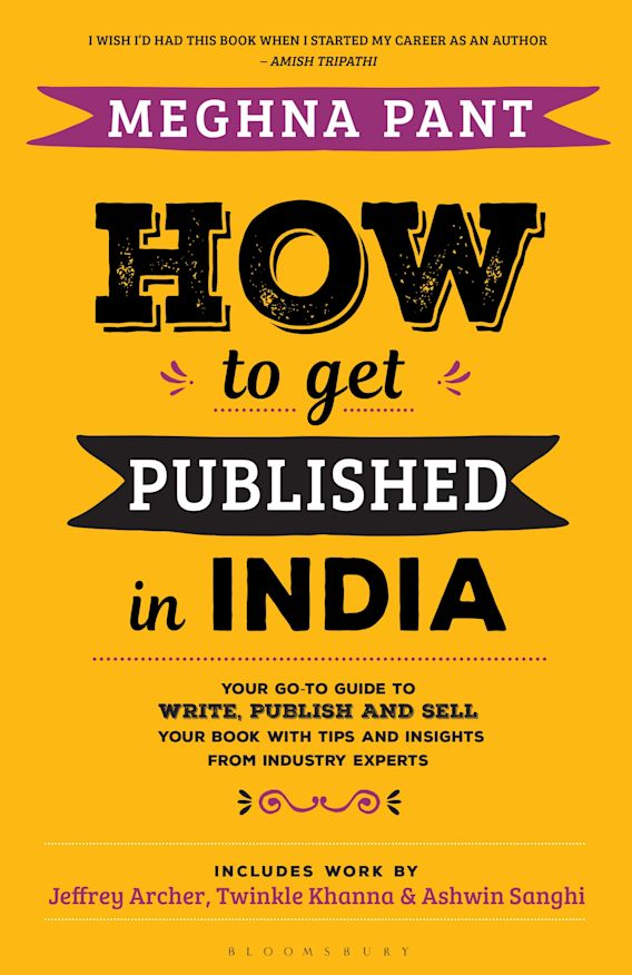 How to Get Published in India cover