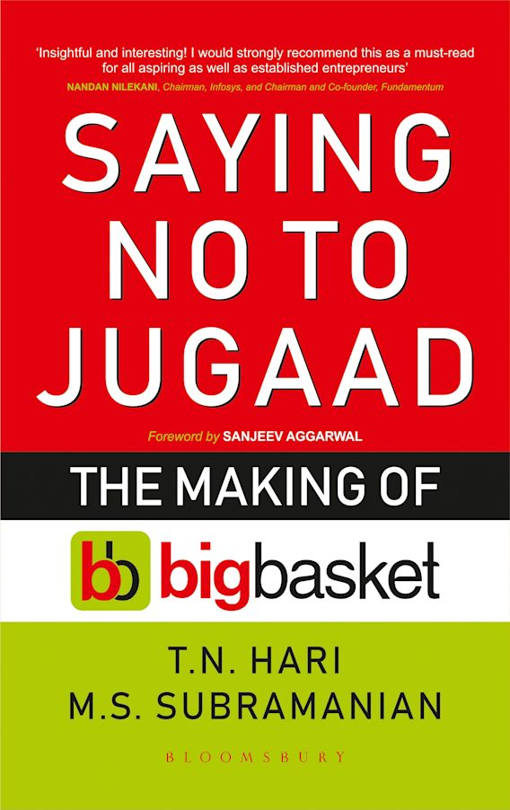 Saying No to Jugaad cover